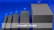 Acoustic Foam Blocks,MMT Acoustix