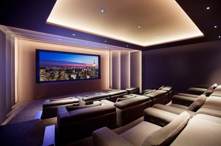 Modern home theater ideas